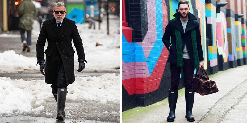 ست کردن بوت با انواع لباس ها برای آقایون شیک پوش تصاویر