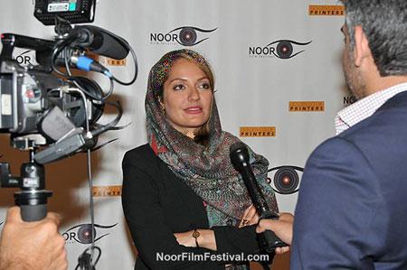 عکسهای متفاوت مهناز افشار در فستیوال فیلم نور در لس آنجلس