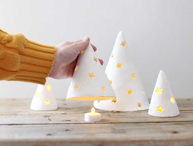 آموزش ساخت فانوس درختی بسیار زیبا با خمیرمجسمه سازی