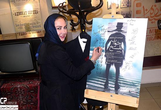 عکس های آناهیتا نعمتی در اکران خصوصی فیلم خواب تلخ