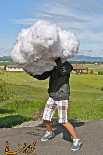 ساخت کاردستی ابر مصنوعی  تصاویر