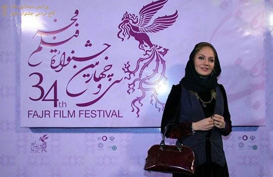 مهناز افشار و عکسهایش در جشنواره فیلم فجر تصاویر