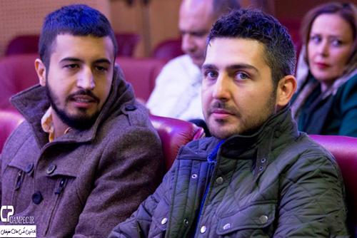عکس های بازیگران و هنرمندان در مراسم رونمایی از آلبوم حافظ ناظری