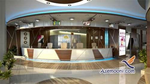 مدل طراحی دکوراسیون داخلی آژانس هواپیمایی