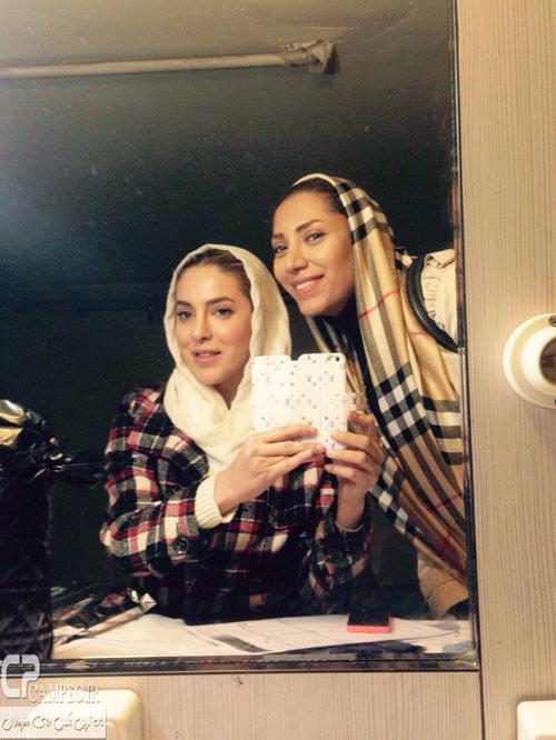 عکس های جدید شیما محمدی و تیما پور رحمانی بازیگران جوان تلویزیون