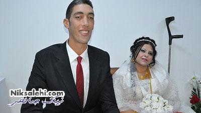 همسر رویایی بلندقدترین مرد دنیا
