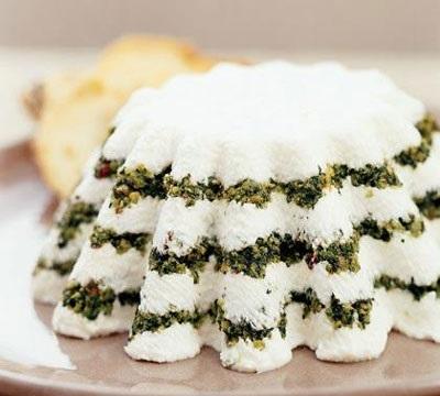 کیک ماست با سبزیجات معطر, پیش غذایی خوشمزه و کم هزینه! عکس
