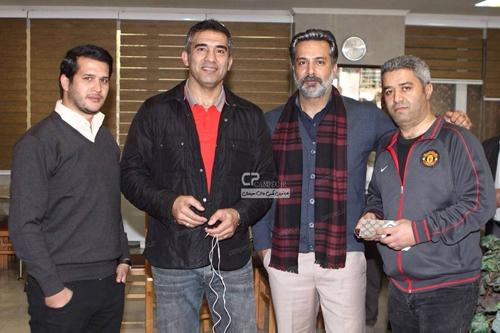 احمد رضا عابدزاده در پشت صحنه سریال آوای باران