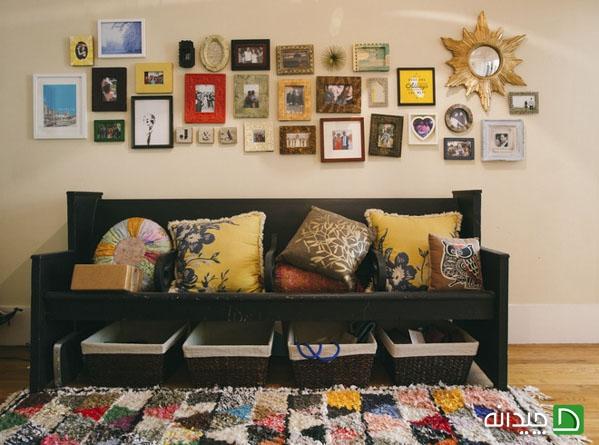 ایده هایی آسان برای نظم دادن به خانه