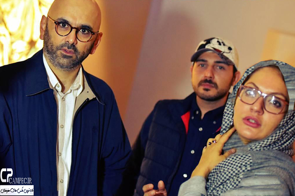 عکسهای بازیگران در افتتاحیه گالری نقاشی سحر خلخالیان