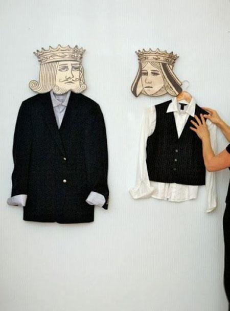 مدل چوب لباسی های خلاقانه  تصاویر