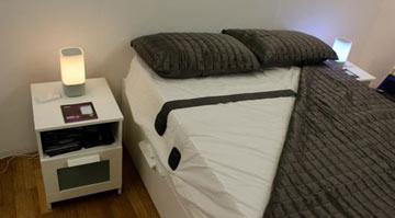تشک هوشمند که خواب را کنترل میکنند+عکس