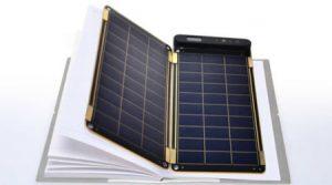 با کاغذ خورشیدی تلفن همراه را شارژ کنید+تصاویر
