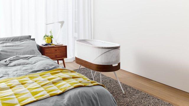 اختراع جالب تخت خواب هوشمند برای نوزادان+تصاویر