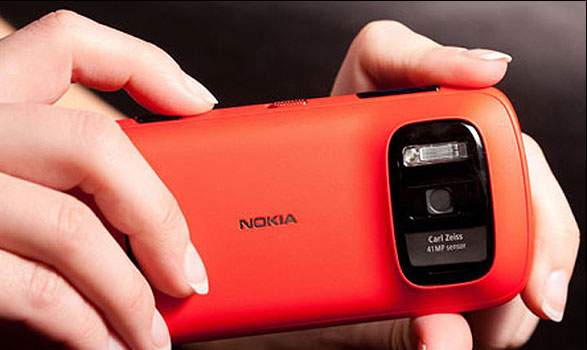 تلفن همراه هوشمند جدید با دوربین ۴۱ مگاپیکسلی+ تصاویر