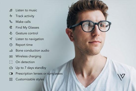 عینک هوشمند Vue که از طریق بلوتوث به گوشی وصل میشود+تصاویر