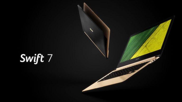 Acer Swift 7 ; عنوان باریکترین لپ تاپ جهان در سال 2016 تصاویر
