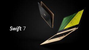 Acer Swift 7 ; عنوان باریکترین لپ تاپ جهان در سال ۲۰۱۶ +تصاویر