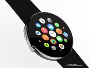 ساعت جدید اپل ;ساعت هوشمندی با صفحه گرد به بازار می آید+تصاویر