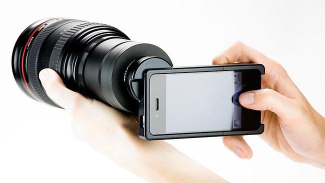 دوربین موبایل از اولین برچسب های خرید گوشی همراه + تصویر