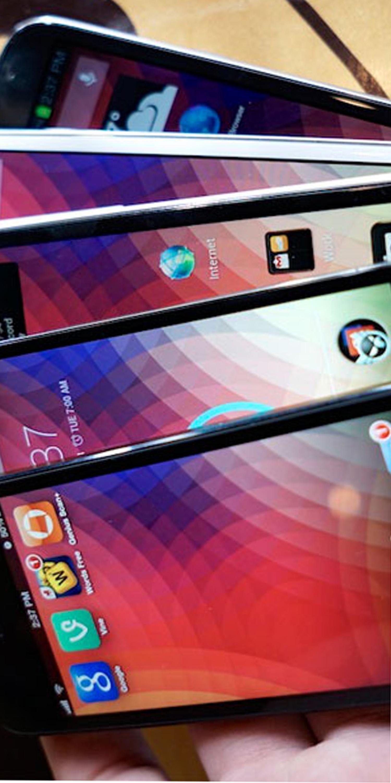 صفحه نمایش گوشی موبایل