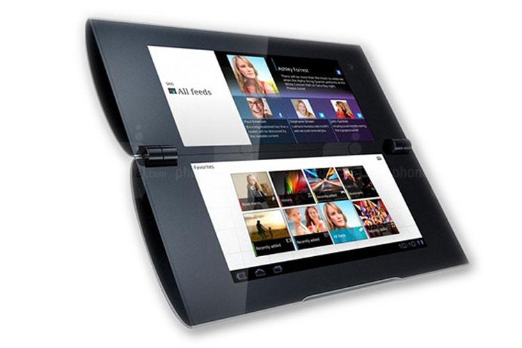 تبلت پی سونی با دو نمایشگر تاشو و قابلیت تبدیل به یک نمایشگر +تصاویر