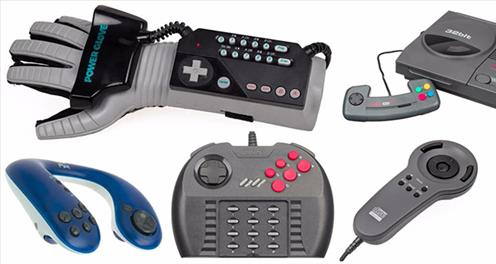 ۷ مورد از بدترین کنترلرهای دنیای بازی با طراحی نازیبا