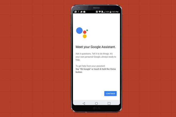 گوشی الجی جی ۶ و نحوه استفاده از گوگل اسیستنت در آن