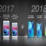 این ۳ گوشی را اپل در سال ۲۰۱۸ میسازد