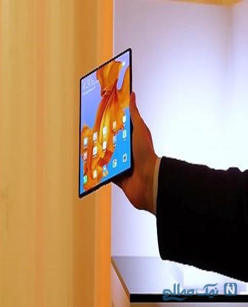 پوستر هواوی میت X اولین گوشی انعطاف پذیر هواوی لو رفت