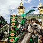 ورود نمادین کاروان امام حسین (ع) به کربلا+تصاویر