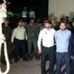 قاتل آتنا اصلانی اعدام شد +تصاویر لحظه اعدام شیطان پارس آباد