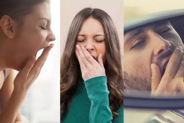 خمیازه زیاد نشانه مشکل در سلامتی است