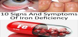 نشانه های کمبود آهن در روح و جسم