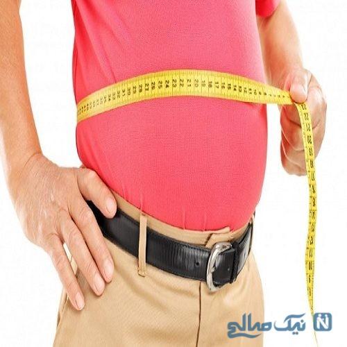 شکم بزرگ را چگونه می توان کوچک کرد ؟