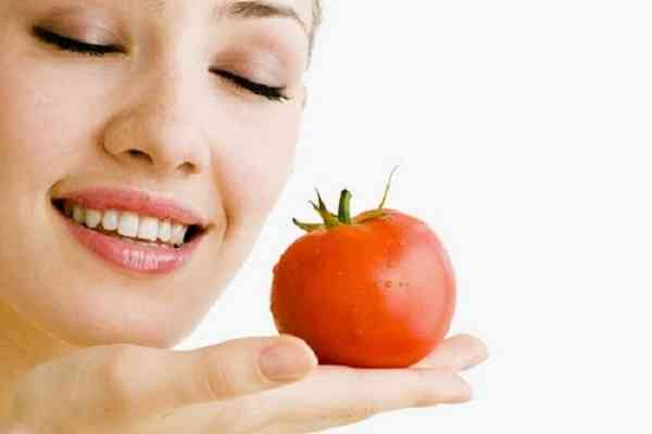 روشهای درمان پوست با گوجه فرنگی
