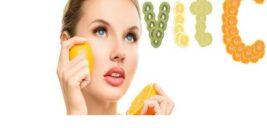 """درمان لکهای صورت با مصرف ویتامین""""C"""""""