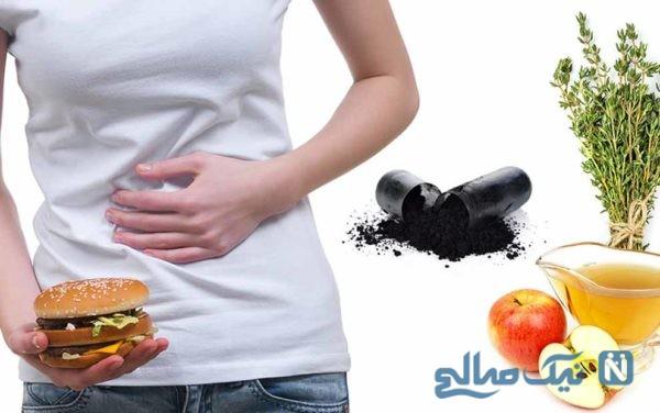 علت های مسمومیت غذایی
