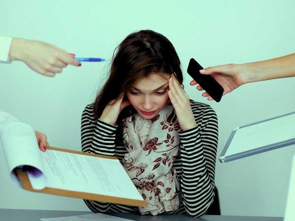 اثر استرس بر پوست صورت