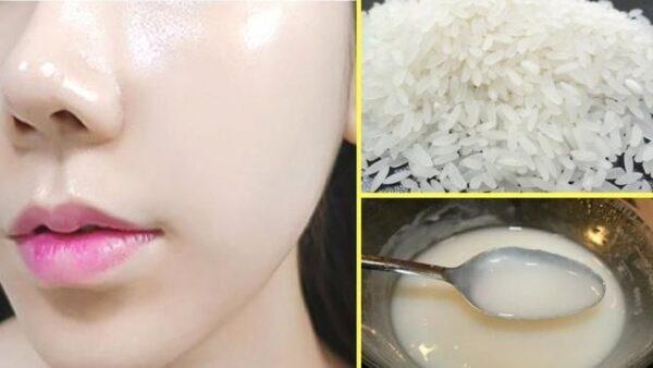 ماسک برنج زنان ژاپنی