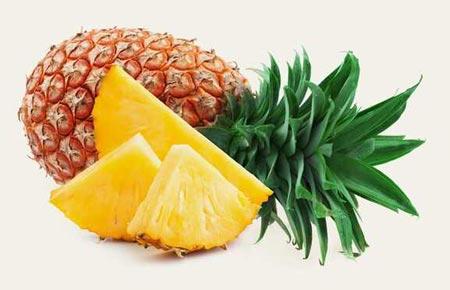 درمان سرفه با آناناس