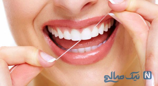 نحوه استفاده از مسواک و نخ دندان
