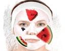 سه ماسک پاک کننده ، درخشان کننده و مرطوب کننده پوست با هندوانه