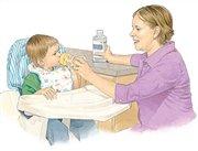 درمان اسهال ویروسی کودکان در خانه