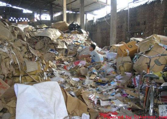 گزارش تصویری : تولید دستمال کاغذی غیر بهداشتی