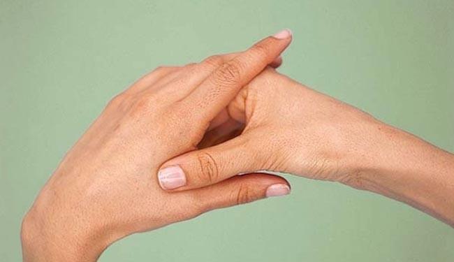درمان سردرد در ۳۰ ثانیه بدون نیاز به دارو + عکس