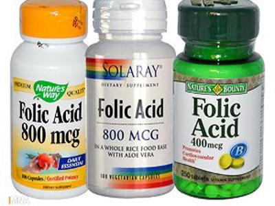 مصرف اسید فولیک