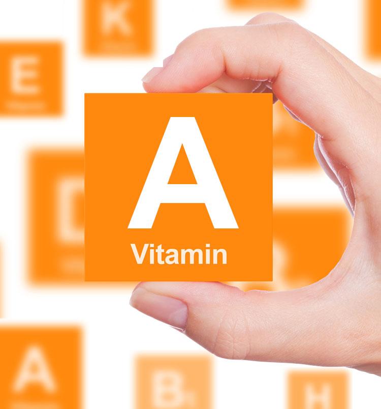 فقدان ویتامین A در بدن