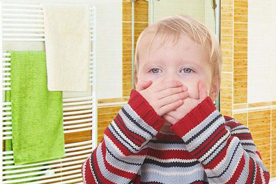 تهوع و استفراغ کودک