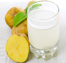 فواید شگفت انگیز آب سیب زمینی برای سلامتی